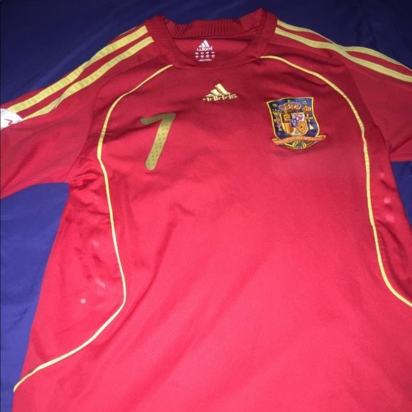 premium selection 11fd3 1e71b Euro 2008 Spain Vintage National Team Jersey